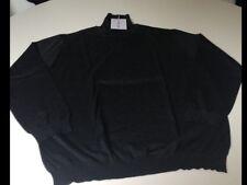 Salvatore Ferragamo maglione collo alto uomo nuovo tag.XXL, lana made in italy