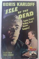 Isle of the Dead Boris Karloff Beta Betamax