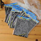 Magic Set Scratch Art Painting Paper With Drawing Stick Kids Educational Toy New