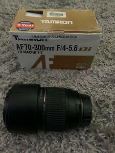 Tamron AF 70-300mm F/4-5.6 Di LD Macro 1.2 Lens for Nikon