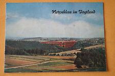 Broschüre / Prospekt Netzschkau im Vogtland 1960, Entwicklung