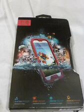 LifeProof fre Waterproof Phone Case For Samsung Galaxy S4 Magenta/Gray