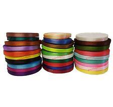30 rouleaux ruban satin solid couleur rubans taille 6mm plus exigeants meilleures couleurs