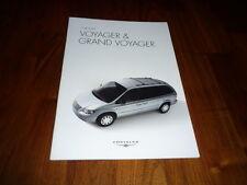 Chrysler Voyager und Grand Voyager Prospekt 11/2005