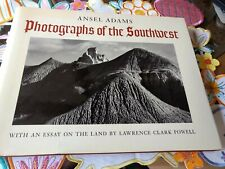 Ansel Adams Photographs Of the Southwest 1976 First Printing Hardcover  Like New