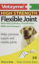 Vetzyme Flexible Joint 30 Tablets for Dogs High Strength Joint Care Supplement