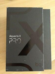 BQ Aquaris X Pro - 64GB - Schwarz/ Midnight black Smartphone Handy