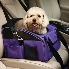 Purple Foldable Pet Carrier Dog Cat Car Booster Seat Soft Cage Travel Bag Large