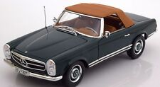 NOREV 1963 Mercedes 230SL (W113) Cabriolet / Soft-Top Green LE 1000pc *New Item!