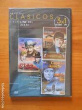 DVD CICLO CINE DEL OESTE - LA LEY DE LA FUERZA / EL DESIERTO PINTADO / CAPITAN A