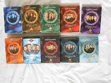 Stargate SG-1 DVDs complete T.V. series staring Richard Dean Anderson