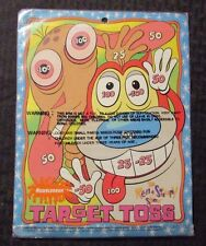 1994 THE REN & STIMPY SHOW Target Toss Game SEALED Nickelodeon 8.5x11""