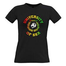 University of Ska Jamaica Ladies T-shirt 100% cotton retro reggae skinhead cool