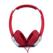 PANASONIC RP-HXD3 WEWR MONITOR HEADPHONES RED - NEW BOXED