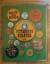 Pittsburgh Pirates 1971 World Series Souvenir Program Book