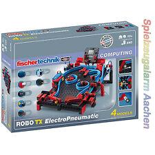 Fischertechnik 516186 COMPUTING ROBO TX Electro Pneumatic 4 Modelle Bauteile 440