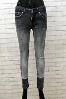 Jeans Donna Dsquared2 Taglia 30 Slim Pantaloni Pants  Denim Pantalon Elastico