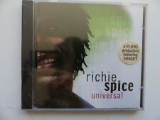 RICHIE SPICE Universal HEARTBEAT 7603    REGGAE CD ALBUM