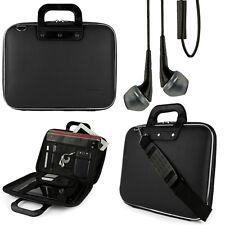 "SumacLife Laptop Shoulder Bag Carry Case For 15.6""HP Pavilion/ENVY x360+Earphone"