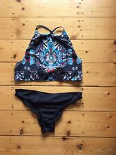 Jaded Asos Mix Jewel Crop Scrunch Back Bikini Sz 16 Bnwt