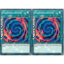 2x POLIMERIZZAZIONE / POLYMERIZATION • Comune • LEHD ITA22 • YUGIOH ANDYCARDS