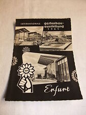 DDR Postkarte Ansichtskarte PK AK iga Internationale Gartenbauausstellung Erfurt
