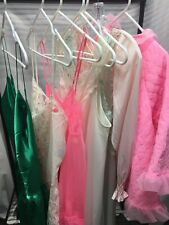 New listing Vintage Lot of 7 Lingerie 70's & Up Sheer Nylon Sexy Long/Short Nightgowns M