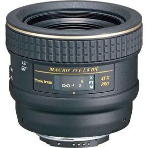 Tokina 35mm F2.8 ATX PRO DX Macro Canon Mount