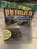 Eaglemoss Batman automobilia issue 04 (MOVIE BATMOBILE) Superb condition DIECAST