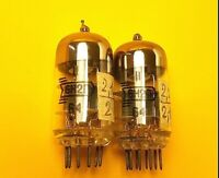 6N2P ECC83 12AX7 7025 5751 double triode Soviet Ussr 1950-1969 Matched Pair