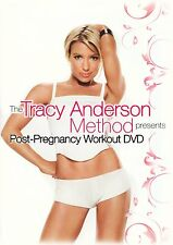 Tracy Anderson Method: Post-Pregnancy Workout DVD R4 New & Sealed