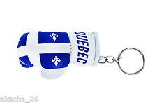 Porte clés Drapeau QUEBEC FLAG boxing gloves Mini gant de boxe