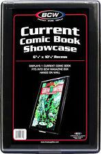 (5) BCW-CBS-CUR Current Modern Age Comic Book Showcase Show Case Display Frame