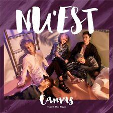 NU'EST [CANVAS] 5th Mini Album CD+Post Photo Cards K-POP SEALED