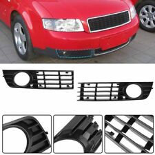 US For 2002-2005 Audi A4 B6 Front Lower Side Fog Light Grille Grill Bumper L & R