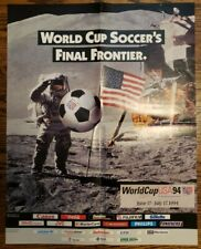 1994 World Cup Soccer USA Poster - World Cup Soccer's Final Frontier
