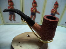 PIPA PIPE MASTRO GEPPETTO BY SER JACOPO RUSTIC FINISH HAND MADE ITALY  NEW 17