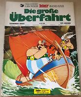 Asterix Die große Überfahrt Großer Asterix-Band XXII - 1976 1. Auflage