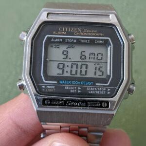 Citizen Seven 9500 vintage Digitaluhr circa 1980 / digital watch