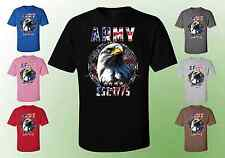 Army Eagle America Unisex T-Shirts - Army Eagle Red White Blue USA (20105D2 c1be7f2d6