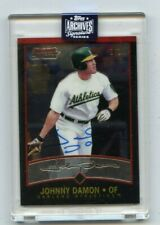 2020 TOPPS ARCHIVES SIGNATURE #66 JOHNNY DAMON AUTOGRAPH #1/1, OAKLAND A'S