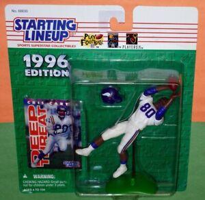 1996 CRIS CARTER first Minnesota Vikings NM+ #80 *FREE_s/h* Starting Lineup