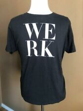 LOGO TV WORLD OF WONDER RuPaul's Drag Race WERK t-shirt, Black, Large