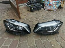 MERCEDES A CLASS A176 W176 FULL LED PAIR HEADLIGHTS COMPLETE LHD GENUINE
