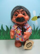 "1977 GRANDPA TOURIST w/HANG TAG ((#2)- 9"" Dam Troll - NEW STORE STOCK - Denmark"