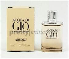 ღ Acqua di Gio Absolu - Armani - Miniatur EDP 5ml *NEW 2018*