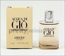 ღ acqua di gio absolu-armani-miniatura edp 5ml * New 2018 *