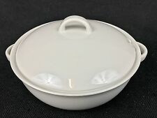 Arzberg White Shape 1382 ONE Covered Soup Casserole Tureen With Lid (#1)