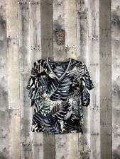 Project Runway Predator Floral Top Size XS New!