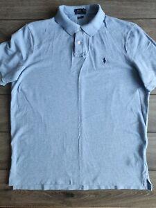 Men's Ralph Lauren Polo Light Blue 100% Cotton Shirt Size L